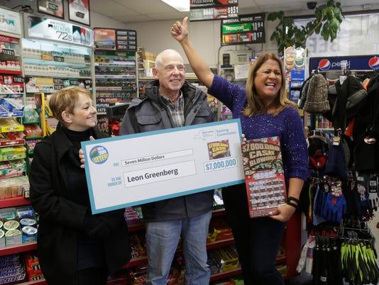 $7 Million Cash Blowout Lottery