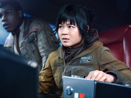 Kelly Marie Tran makes history as Rose Tico in 'Star Wars: The Last Jedi,' the franchise's first Asian-American female lead.