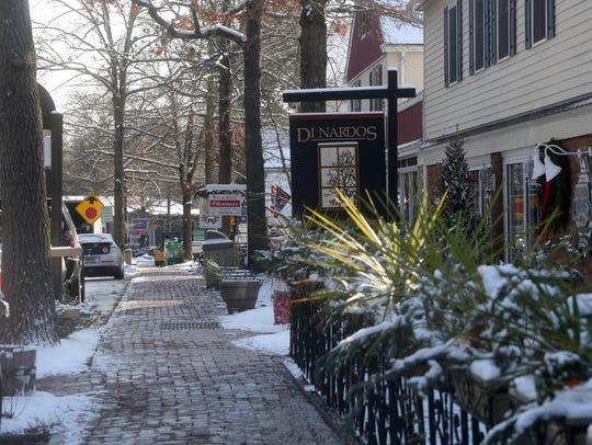 Scotts Corners in Pound Ridge, photographed Dec. 14,