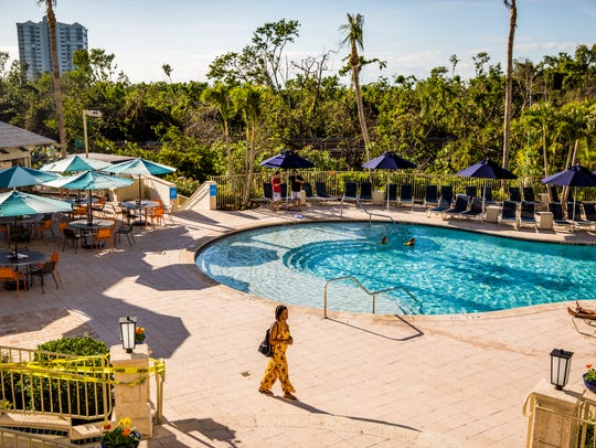 The Naples Grande reopened on Friday, Dec. 15, 2017,