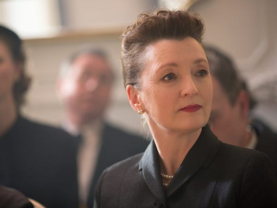 "Lesley Manville stars in ""Phantom Thread."""