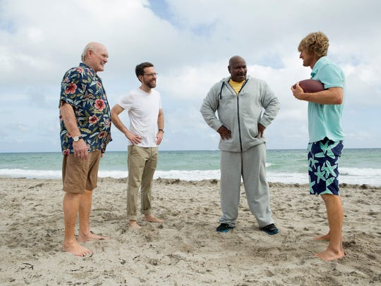 Terry Bradshaw, Ed Helms, Ving Rhames and Owen Wilson