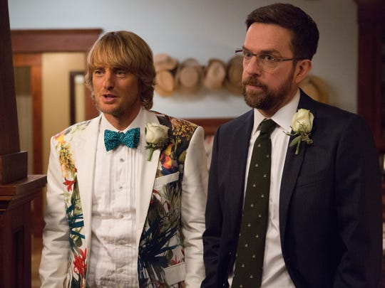 """Owen Wilson and Ed Helms in """"Father Figures."""""""