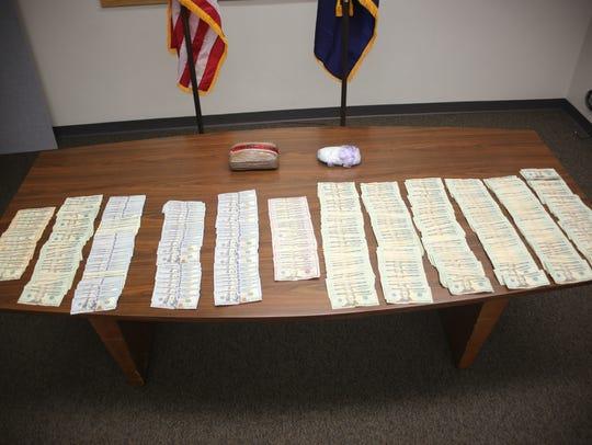Detectives seized methamphetamine, cash, cocaine and