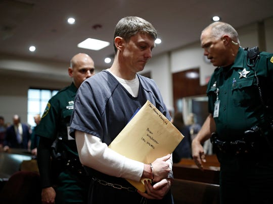Brian Winchester is sentenced to 20 years Tuesday at