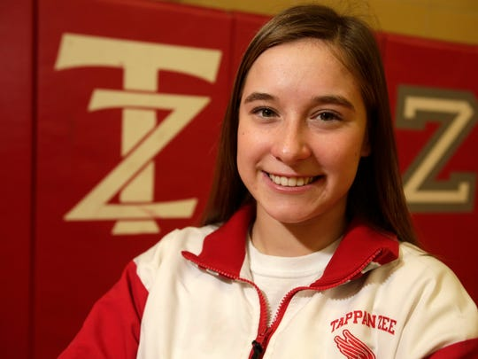 Trinity Lundemo from Tappan Zee High School on Dec. 20, 2017.