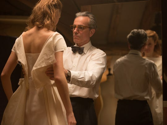 "Vicky Krieps stars as ""Alma"" and Daniel Day-Lewis stars as ""Reynolds Woodcock"" in writer/director Paul Thomas Anderson's PHANTOM THREAD, a Focus Features release. 