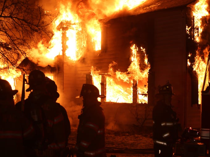 Firefighters from several northern Westchester and