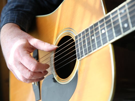 Guitarist and singer Terry Nelson will perform Thursday afternoon at Clearwater-Clear Lake Young @ Hearts at Rejoice Lutheran Church.