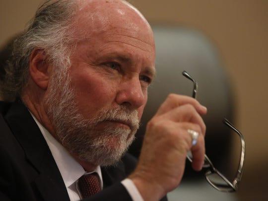 City Commissioner Gil Ziffer during Wednesday's City Commission meeting at City Hall.