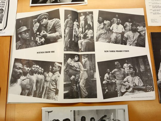 Images from Negro Ensemble Company archives at the