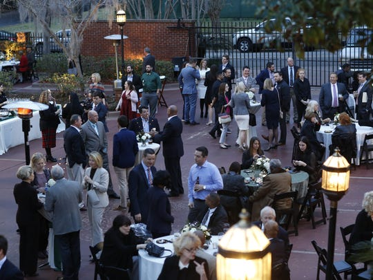 Hundreds of lobbyists, legislators and members of Tallahassee's political set gathered for Associated Industries of Florida's annual reception held on the eve of the opening day of session.