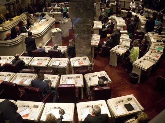 The Alabama House of Representatives