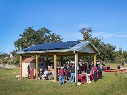 FSU's Sustainability Hub at the Seminole Organic Garden.