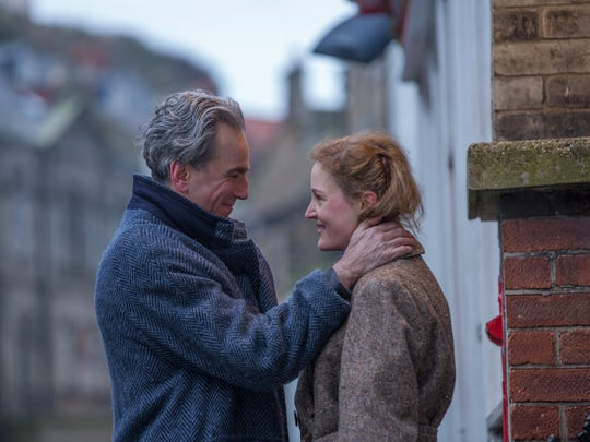 "Daniel Day-Lewis and Vicky Krieps star in ""Phantom Thread."""