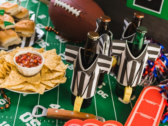 Game day football parties are never complete without