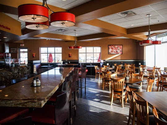 Red Rossa Pizza in Clive Thursday, Jan. 18, 2018.