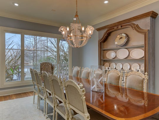 There are two more dining areas in addtiion to this formal room.