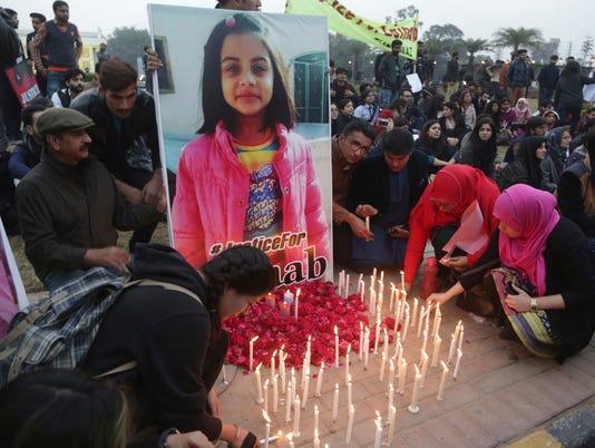 AP PAKISTAN GIRL KILLED I PAK