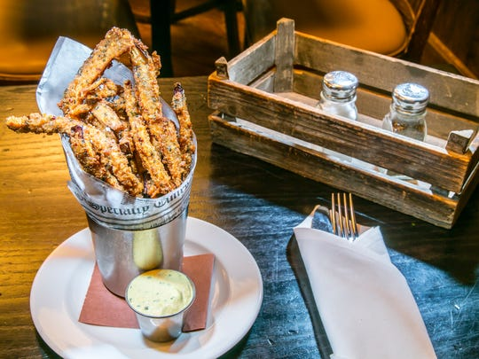 Eggplant fries at the Park Avenue Tavern.