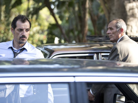 "Adel Karam (left) and Kamel El Basha star in ""The Insult."""