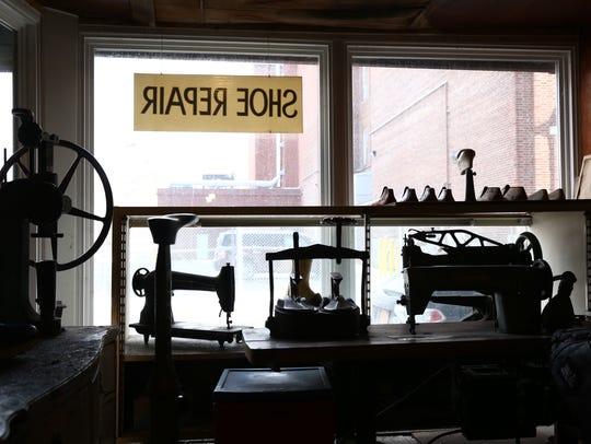Mark Nelson Custom Shoe Maker's shop in the City of