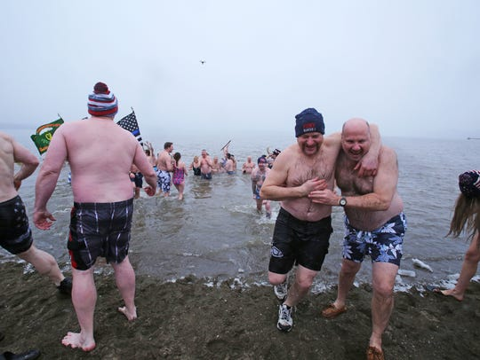 The 19th annual Stony Point Seals polar plunge Feb.