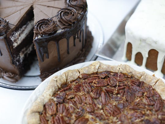 A selection of desserts from Food Glorious Food, pictured
