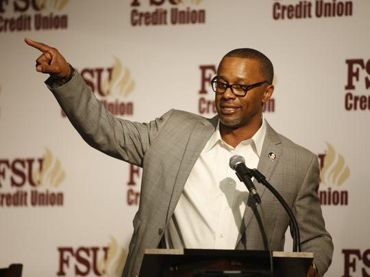 Florida State's new Head Football Coach Willie Taggart