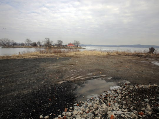 The site of former Empire Chair Factory in the Village of Haverstraw, photographed Feb. 14, 2018. The approximately 10 acre site has been vacant for several decades. The village now has plans to create a mixed use development for the site.