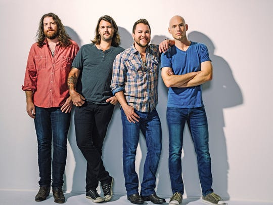 Country music act Eli Young Band is slated to play the Concho Valley Spring Jam, scheduled for May 5, 2018.