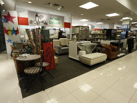 A view of the inside of Macy's Backstage store at Rockaway Townsquare Mall.