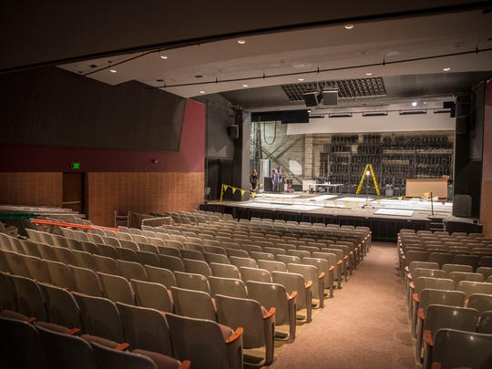 University Theatre is one of Ball State's largest theaters