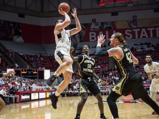 Ball State took on Western Michigan to end its home season on Feb. 23, 2018, at Worthen Arena. Western Michigan won 87-80.