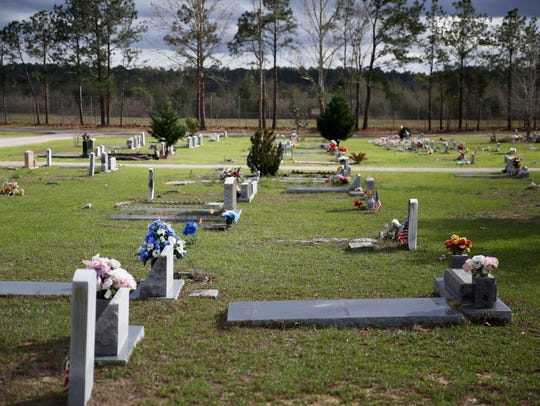 The City of Tallahassee's Southside Cemetery, pictured