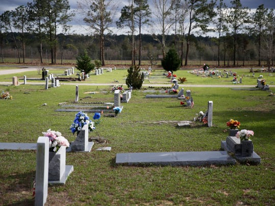 The City of Tallahassee's Southside Cemetery, pictured Monday, Feb. 26, 2018, is running out of space for graves.