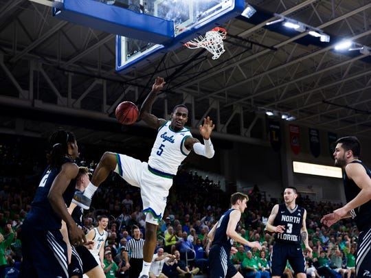FGCU All-ASUN junior guard Zach Johnson believe Dunk City has an NIT run in it.