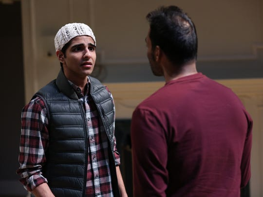 """Kanwar Singh and Amar Srivastava perform in """"Disgraced"""" at Northern Stage."""