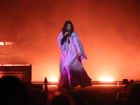 """Lorde kicks off her """"Melodrama"""" North American tour at the BMO Harris Bradley Center on March 1, 2018."""
