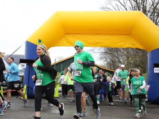 The Gallatin Shamrock Run 5K kicks off on Saturday,