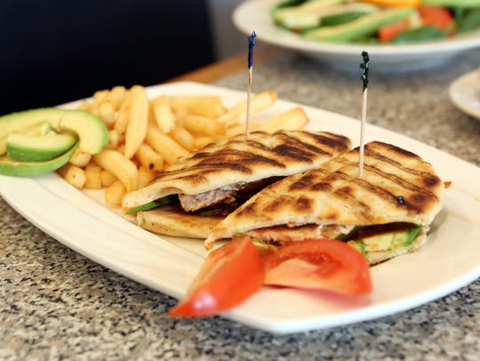 The Yonkers Panini ($10.95), a press-toasted sandwich