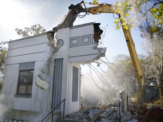 Demolition of existing structures begins Wednesday