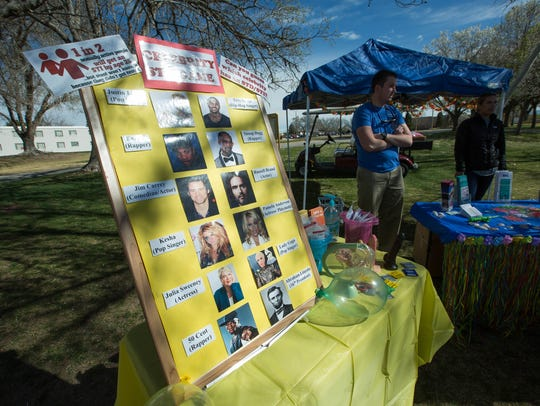 New Mexico State University'sWellness, Alcoholand Violence Education Program hosted a spring break education booth about STDs and the dangers of alcohol outside Corbett Center Student Union on Tuesday, March 13.