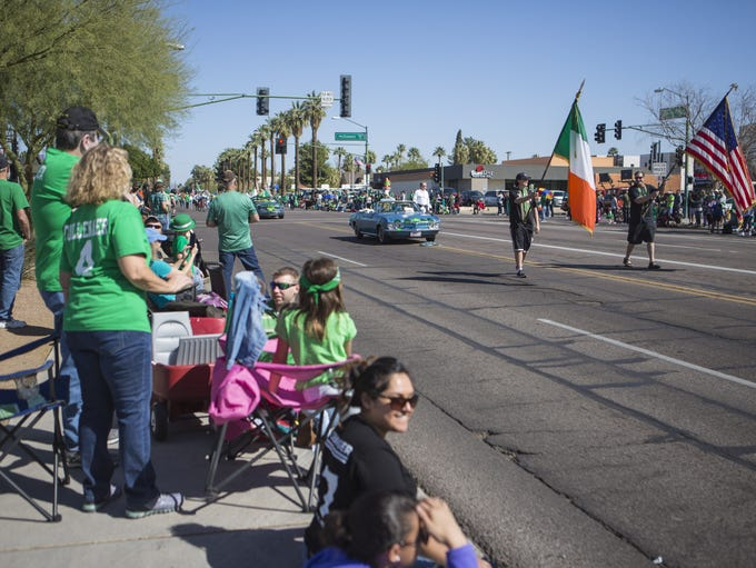 The 2018 St. Patrick's Day Parade takes place on Saturday,