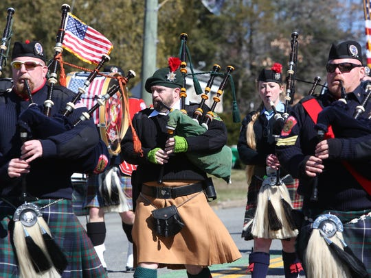 The 56th annual Rockland County St. Patrick's Day Parade
