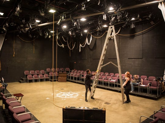 """The Edward S. Strother Theatre is commonly known as the """"black box"""" because of the space's design. It seats nearly 100 patrons."""