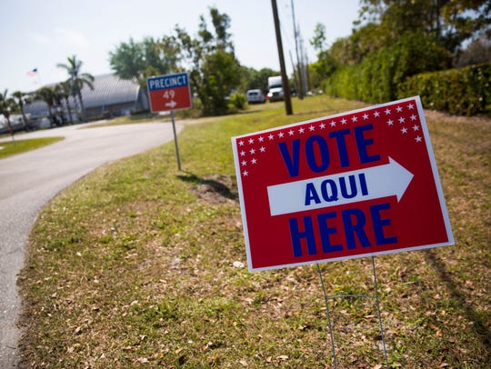 Signs point in the direction of the polls during the