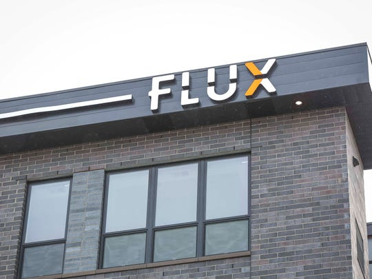 Flux Apartments on Walnut St. Tuesday, March 20, 2018, in Des Moines, Iowa.