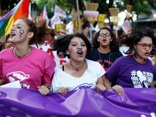 AP PARAGUAY WOMEN DAY I PRY