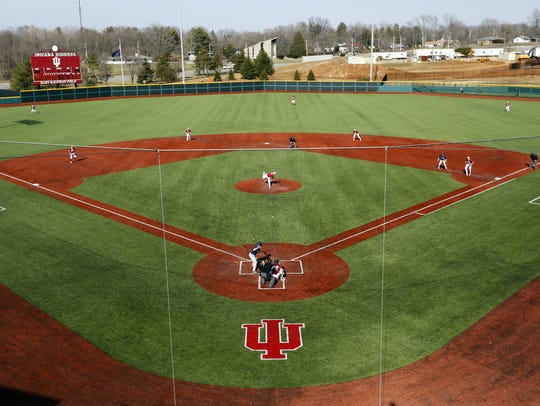 Indiana University's Bart Kaufman Field  is a far cry
